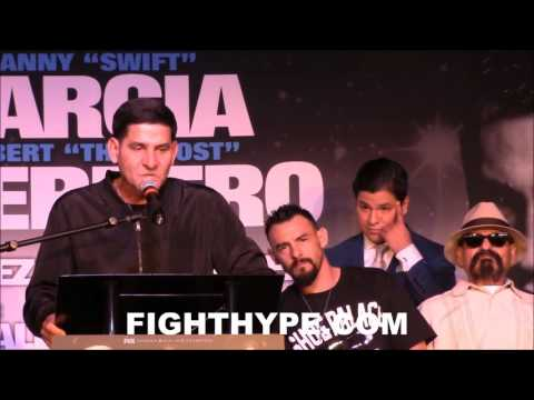 ANGEL GARCIA GOES IN ON RUBEN GUERRERO IN ENGLISH AND SPANISH: