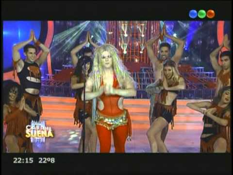 Benjamin Amadeo es Shakira en Tu Cara me Suena