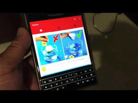 Blackberry Passport running Facebook, Facebook Messenger, Youtube and Insatagram