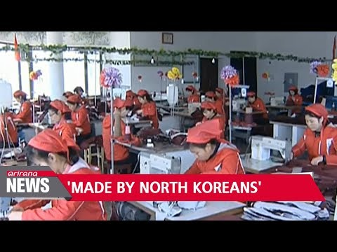 Sports brand products made by North Korean laborers in China have been exported to U.S.: Report