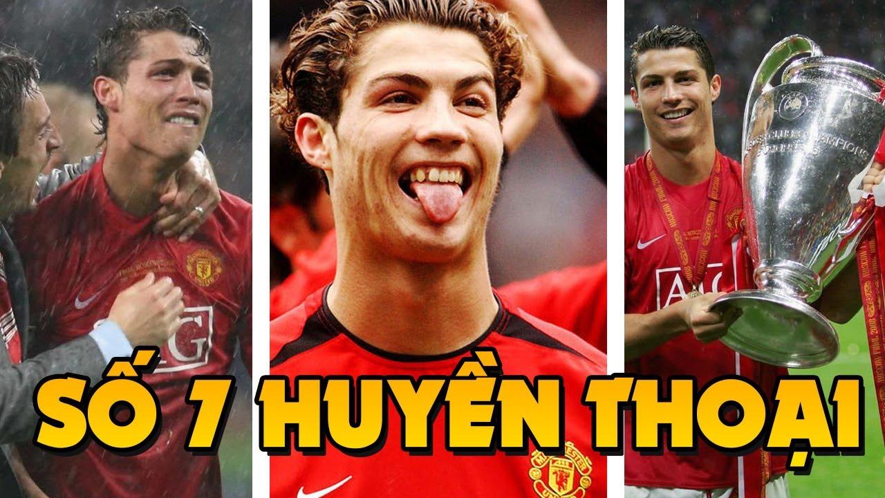 10 Khoảnh khắc đẹp nhất của Cristiano Ronaldo khi còn ở Manchester United