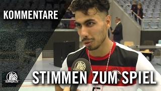Die Stimmen zum Spiel (Hamburg Panthers – FC Fortis, Finale, Futsal Final Four 2017) | ELBKICK.TV