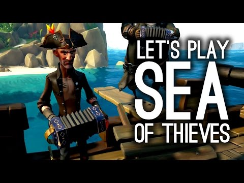 Sea of Thieves Gameplay - Let's Be Dreadful Pirates - Gamescom 2016