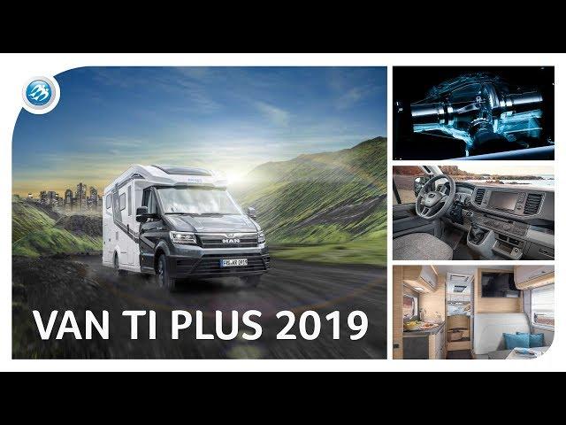 VAN TI PLUS 2019 Overview - KNAUS meets MAN TGE (All-Wheel-Drive)