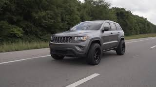 SUPERCHARGED OFF-ROAD JEEP GRAND CHEROKEE