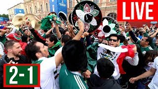 MEXICO VS COREA DEL SUR EN VIVO | COPA MUNDIAL 2018 MEXICAN FANS