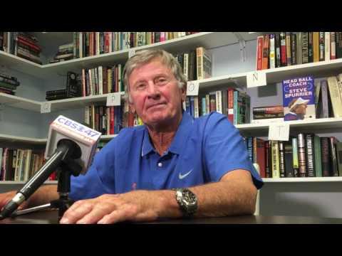 Steve Spurrier talks Florida football