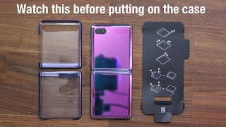 samsung Galaxy Z Flip Official Case - Watch this Before You Put It On
