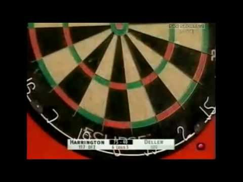 Rod Harrington has 20+ Bounceouts - 2002 PDC World Matchplay