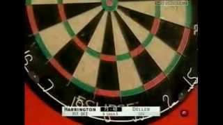 Rod Harrington has 20+ Bounceouts - 2002 PDC World Matchplay
