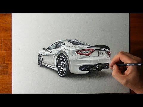 drawing-a-maserati-😍-with-more-possible-details,-in-less-than-5-hours-and-without-breaks-🥴