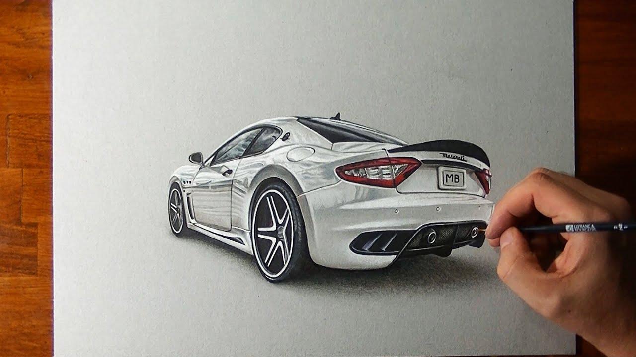 画像: Amazing Maserati Granturismo Drawing www.youtube.com