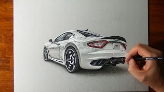 Amazing Maserati Granturismo Drawing
