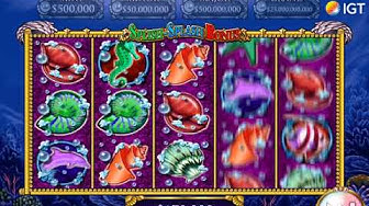 "MYSTICAL MERMAID Video Slot Casino Game with a ""BIG WIN"" FREE SPIN BONUS"