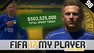500 000 000 spent on transfers   fifa 17 career mode player w storylines   episode 98