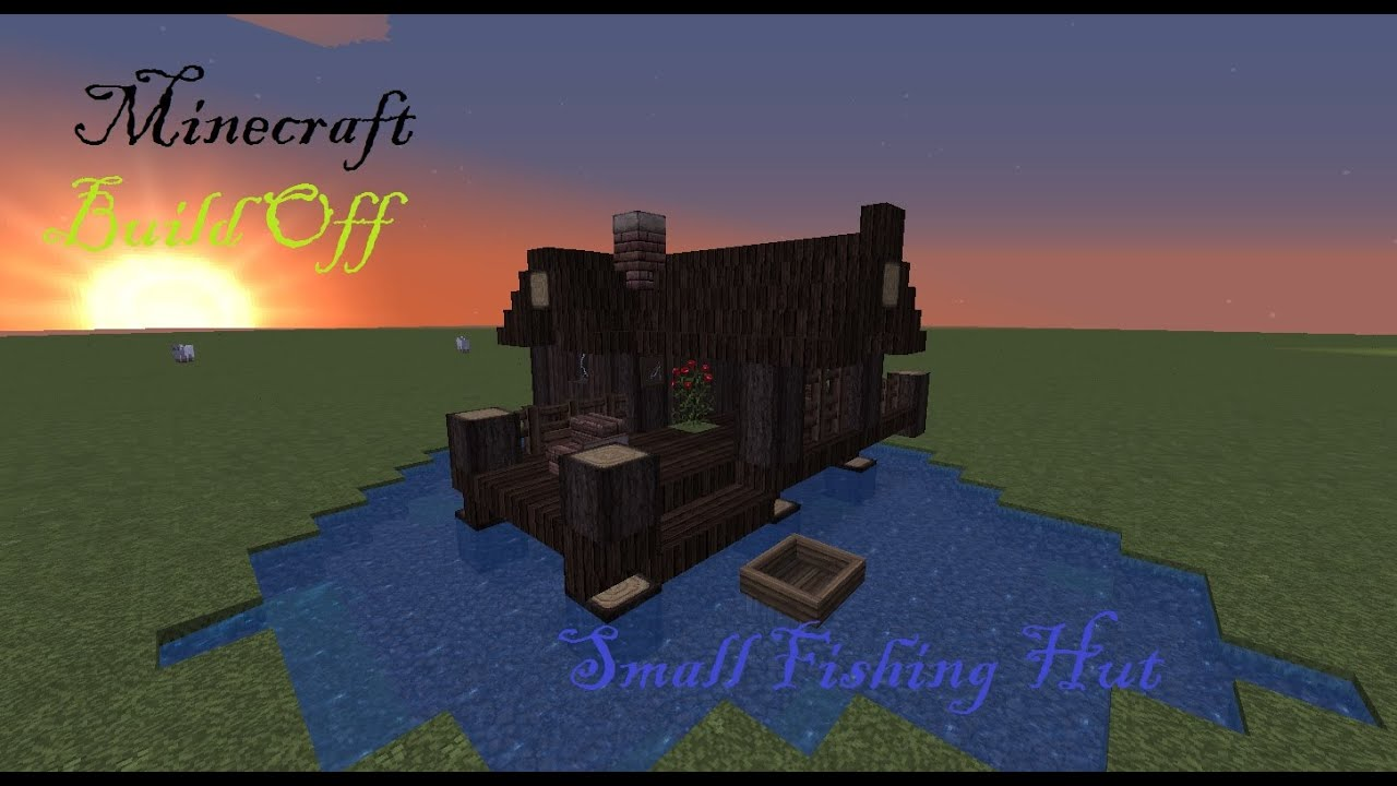 minecraft fishing house - HD1452×787