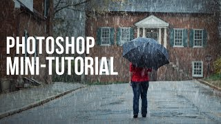 Photoshop Mini-Tutorial: Creating a Rain Storm