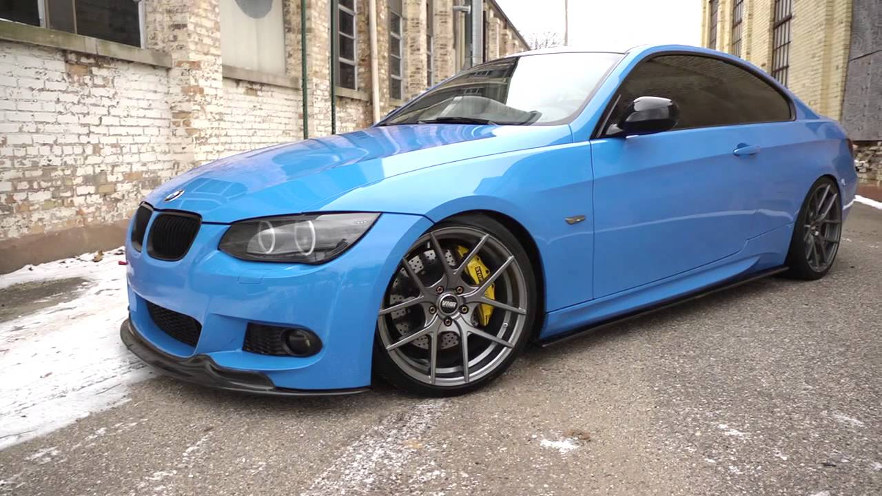 vmr v803 wheels on sean rho 39 s bmw e92 335i youtube. Black Bedroom Furniture Sets. Home Design Ideas