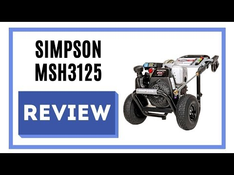 Simpson Cleaning MSH3125 Review | Simpson 3200 PSI Pressure Washer 💦