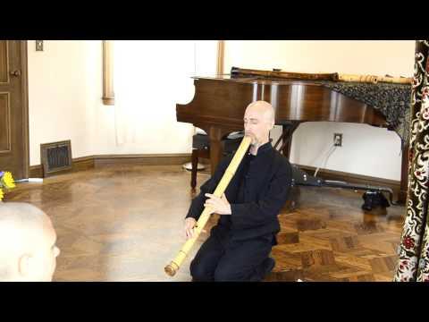 2.9 Taimu (bass) Zen Shakuhachi Flute Meditation Music: Cornelius 深禅 Boots