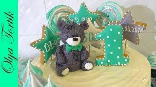 Торт с ТОППЕРАМИ Торт на годик для ребенка /// Olya Tortik Домашний Кондитер