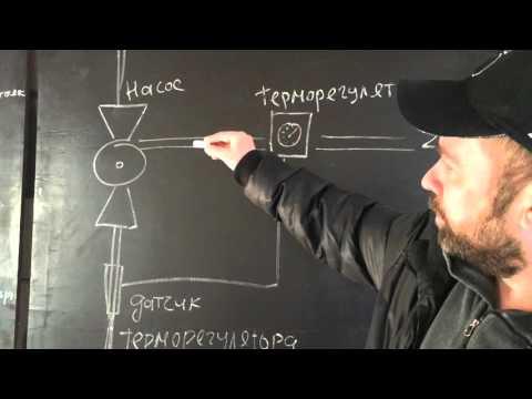 Схема подключения тёплого пола от центрального отопления