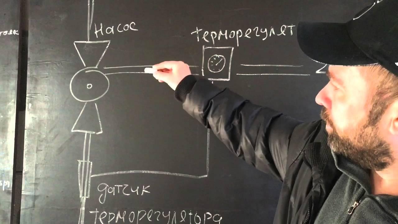 схема расчета водянного отопления через теплый пол