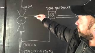 Схема подключения тёплого пола от центрального отопления(, 2016-03-10T14:59:05.000Z)