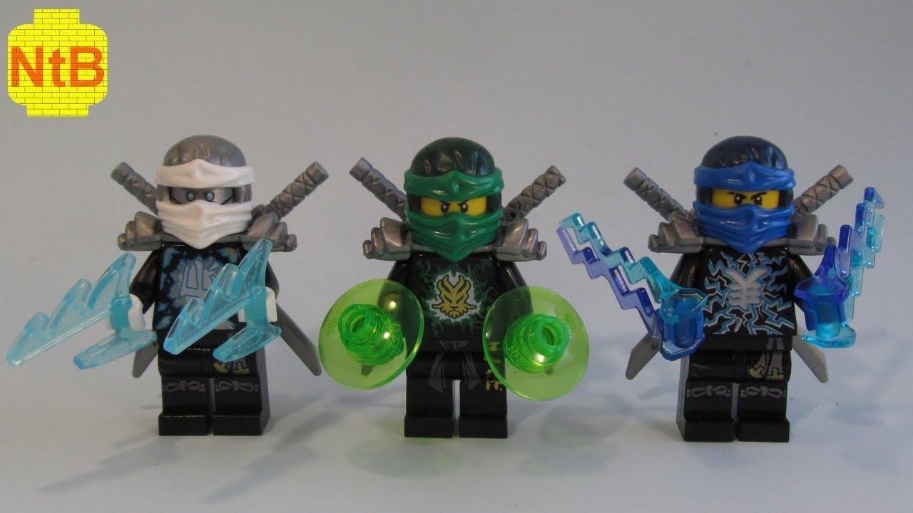 Lego Ninjago Custom Lloyd Jay Zane Extreme Suits