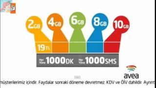 Avea İnternet Paket fiyatları 2016 reklamı