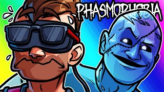 "Phasmophobia Funny Moments - Moo Hunts Dwayne ""The Mark"" Johnson in VR!"
