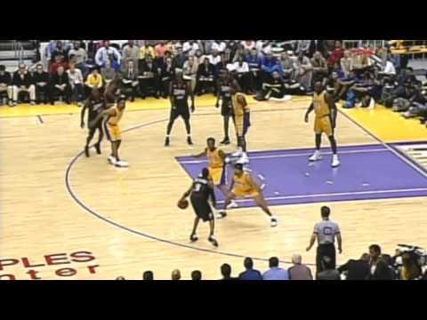 Allen Iverson 48pts vs Lakers: 2001 NBA Finals Game 1