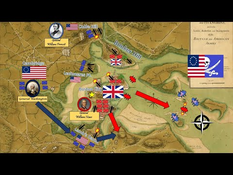 Battle for Boston  -  Washington's Assault on Dorchester Heights