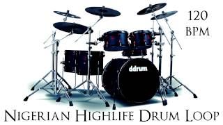 Nigerian Highlife Drum Loop 120 bpm