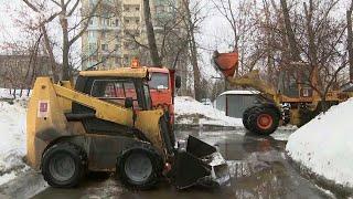 Москва к календарной весне подплывает.