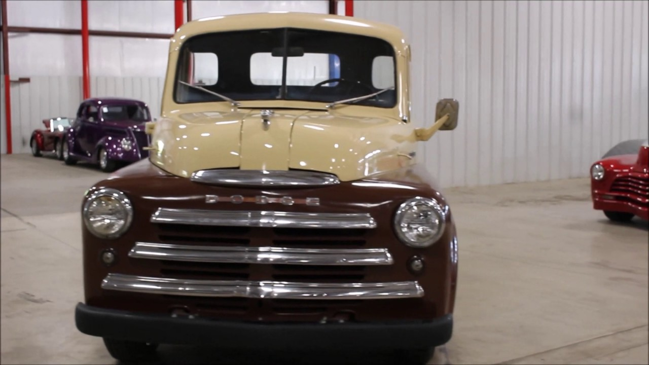 1949 Dodge Pickup Youtube Truck