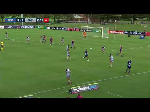 Westfield W-League 2019/20: Round 13 - Newcastle Jets FC Women V Melbourne Victory Women (Full Game)