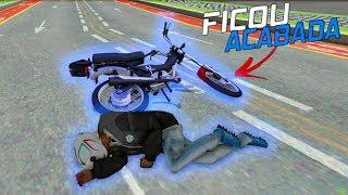 GTA SA Vida Real #27: VIREI NO GRAU COM A MOTO DO MEU AMIGO