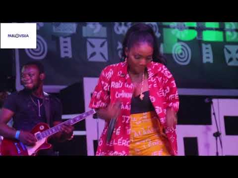 SIMI PERFORM JOROMI AT FELABORATION 2017
