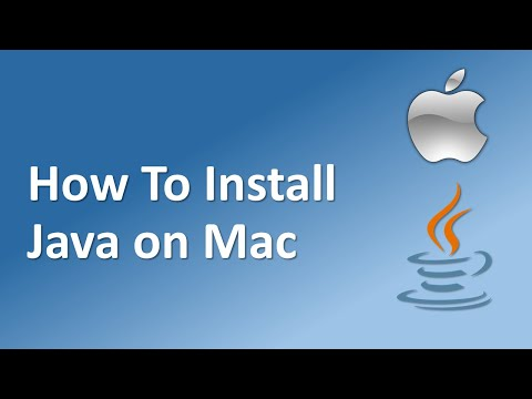 How To Install  Java JDK 12  On Mac OS X  With  JAVA_HOME