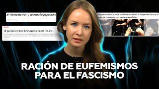 """Malabares mediáticos para no decir """"fascista"""""""