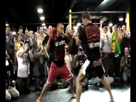 Overview Of UFC 152 Open Workouts At Xtreme Couture
