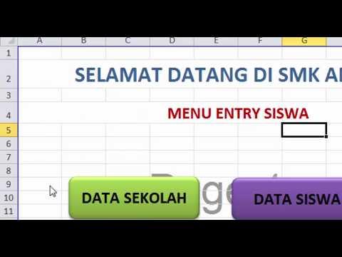 Cara Membuat Aplikasi Nilai Dengan Excel Baru