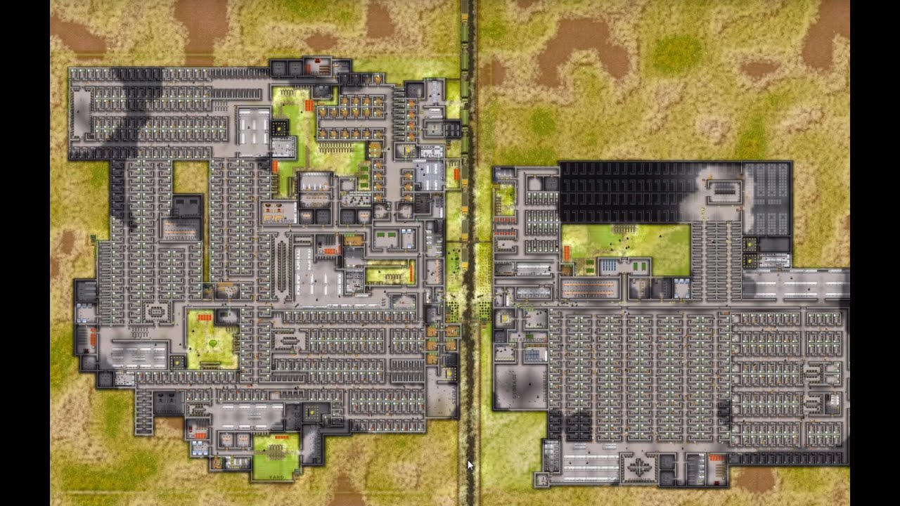 prison architect how to get visitors