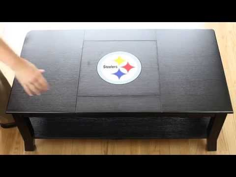 NFL Coffee Tables With Your Team's Logo