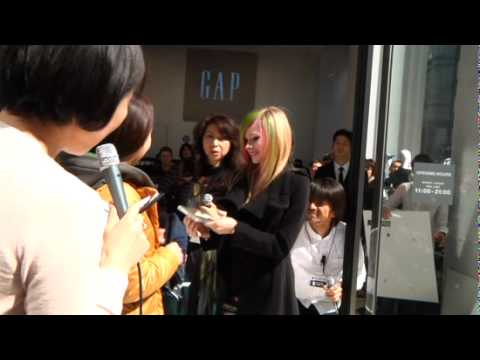 Grand Opening of Gap's Flagship Store in Tokyo