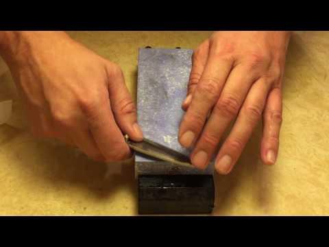 Knife Sharpening - Nubatama Ume 2k Speckled and 4k