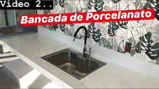 VÍDEO 2, BANCADA PORCELANATO PASSO A PASSO!!