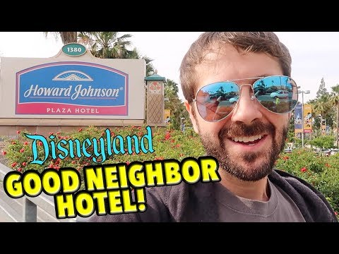 My Stay at Howard Johnson Anaheim -  A Disneyland Good Neigh