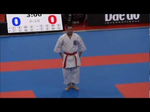 Kata KANKU SHO by Jonathan Mottram - 21st WKF World Karate Championships